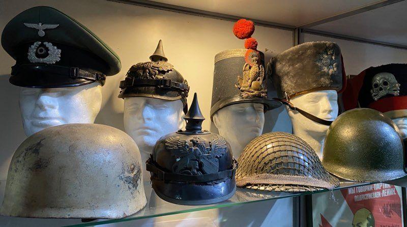 Coleccionismo cascos militares