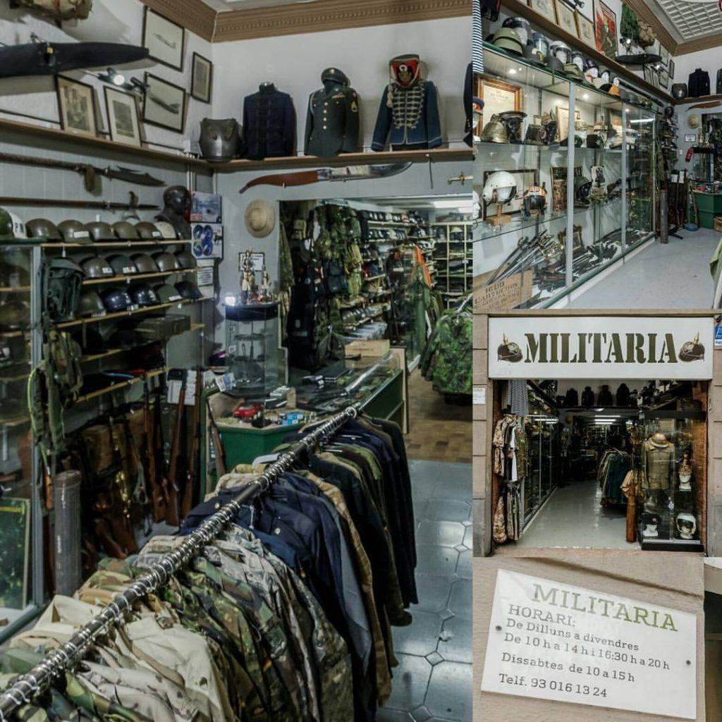 tienda militar barcelona