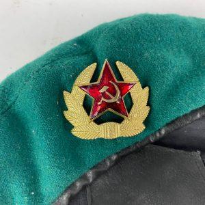 Boina Soviética para Guardias de Frontera NKVD
