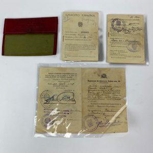 Cartilla Militar Grupo de documentos