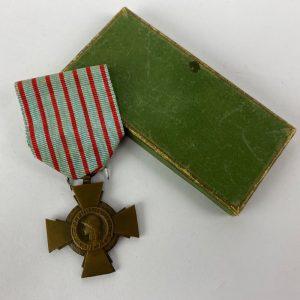 Cruz de Combatiente. Francia