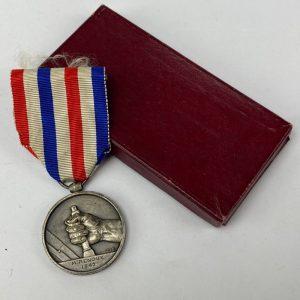 Medalla de Ferrocarriles Francesa 1942