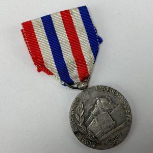 Medalla de Ferrocarriles Francesa 1967