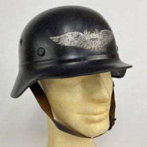 Casco Alemán M40 Luftschutz 2ª Guerra Mundial