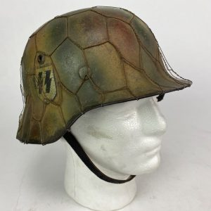 Casco Alemán M35 de Normandia 2ª Guerra Mundial