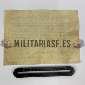Documento de Comité de Defensa Guerra Civil