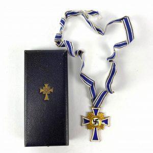 Cruz de honor de madre alemana de oro con caja