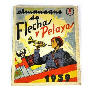 Almanaque infantil Flechas y Pelayos 1939