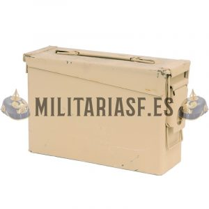 Caja militar para munición color Arena