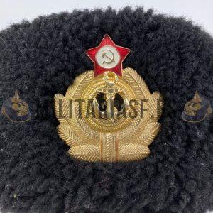 Ushanka de la Marina Soviética