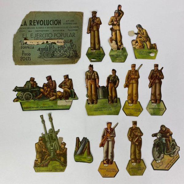 Colección de soldados recortables Republicanos