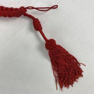 Cordón de Gala rojo con Borlas Ejército Español