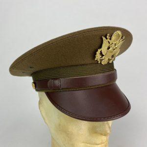 Gorra de Plato de Oficial U.S. 2ª Guerra Mundial