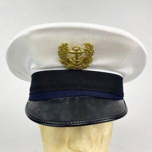 Gorra de plato de la Marina Italiana