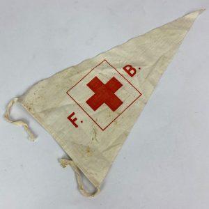 Lote de Banderines de la Cruz Roja