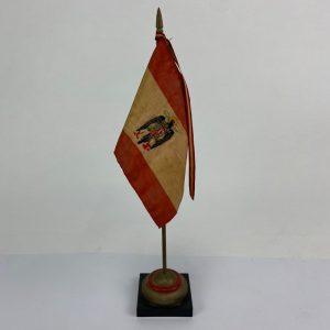 Banderín de mesa con la Bandera Franquista