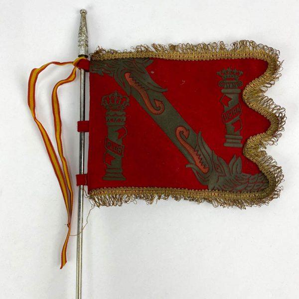 Banderín de mesa de la Casa de Franco