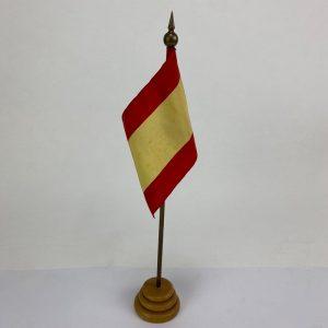 Banderín de mesa con la Bandera de España