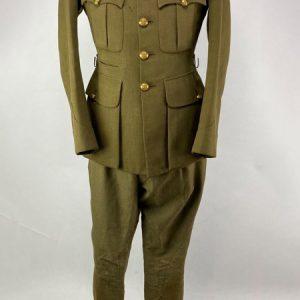 Uniforme Coronel de Artillería Británico 2ª Guerra Mundial