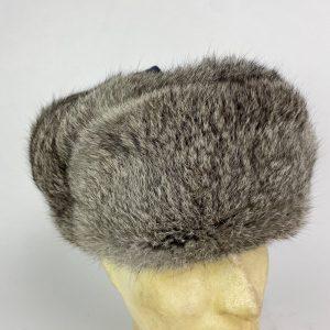 Ushanka de pelo de Conejo