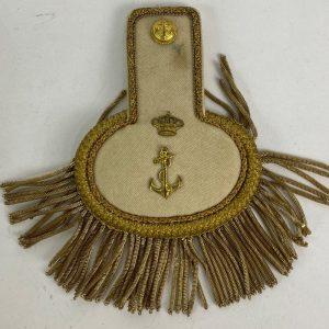 Charreteras de Oficial de la Armada Alfonso XIII