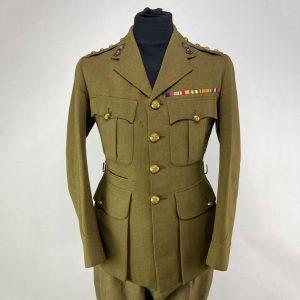 Uniforme Capitan de Artillería Británico 2ª Guerra Mundial