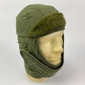 Gorro para clima frío con forro Verde Oliva