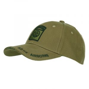 Gorra 82 Airborne 100% Algodón