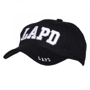 Gorra LAPD bordada 100% Algodón