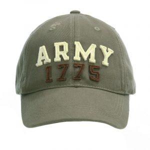 Gorra US ARMY 1775 bordada 100% Algodón