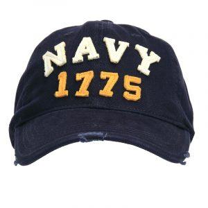 Gorra US NAVY 1775 bordada 100% Algodón