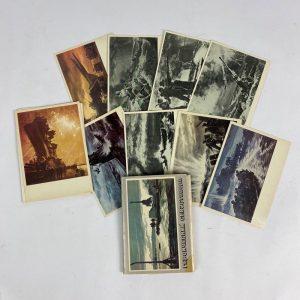 Tarjetas postales Soviéticas Sebastopol WW2