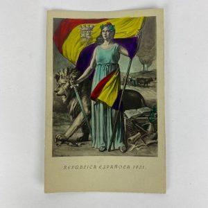 Tarjeta Postal 2ª República Española