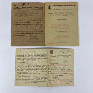Cartilla de la Caja Nacional de Seguro de Enfermedad 1952