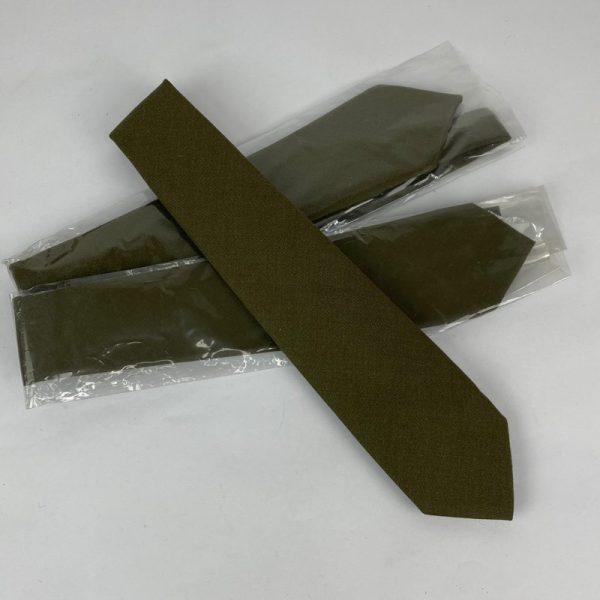Corbata del Ejercito Español Verde