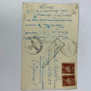 Tarjeta Postal de la Segunda Guerra Mundial