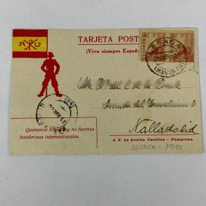 Tarjeta Postal de Acción Católica 1940
