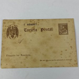 Entero Postal Cervantes 1938 Guerra Civil
