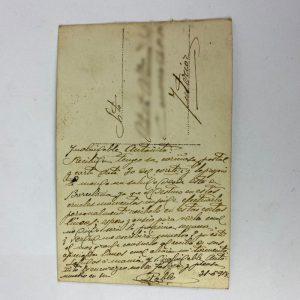 Tarjetas Postale época de Alfonso XIII 1918