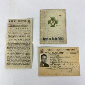 Carnet Acción Católica y el SEU
