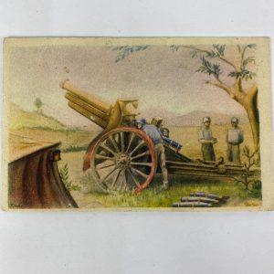 Tarjeta Postal de la Guerra Civil Bando Nacional