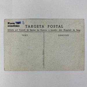 Tarjeta Postal guerra civil