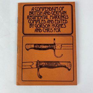 Libro A Compendium of British and German Regimental Markings