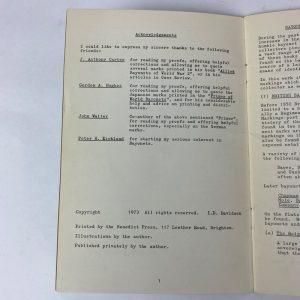 Libro Bayonet Markings: A Guide for Collectors I. D. Davidson