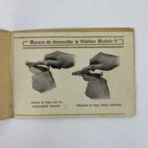 Manual para Pistola Walther Modelo 9