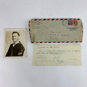 Carta Marinero de la USN 1954