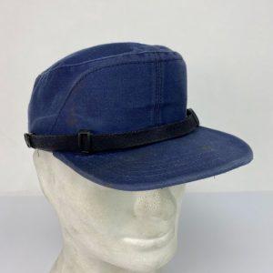 Gorra azul militar para Ferrocarriles