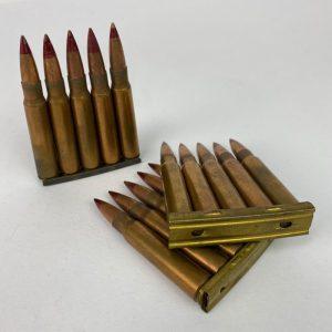 Clip Peine para Mauser completo Inerte