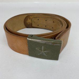 czech army belt