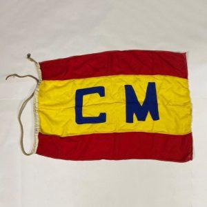 Bandera de Correos Marítimos España
